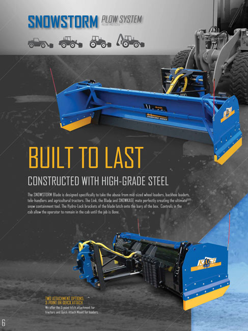 Download Our Brochure - KAGE Innovation Commercial Snow Plows
