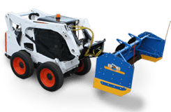 snowfire Skid Steer Snow Plow