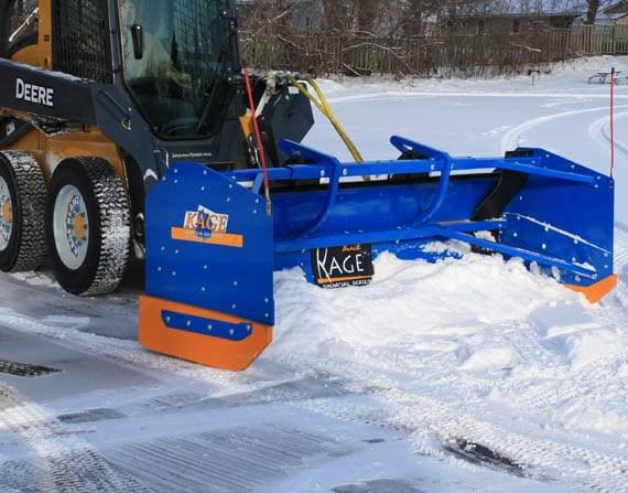 Snowfire Plow System Scraping