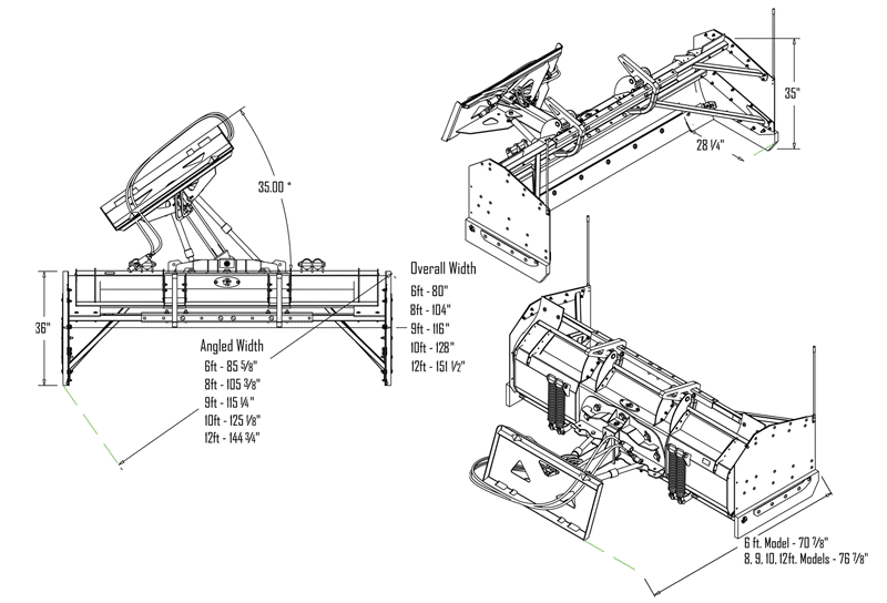 Snowfire Plow System Specifications