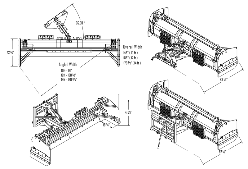 Snowstorm Plow System Specifications