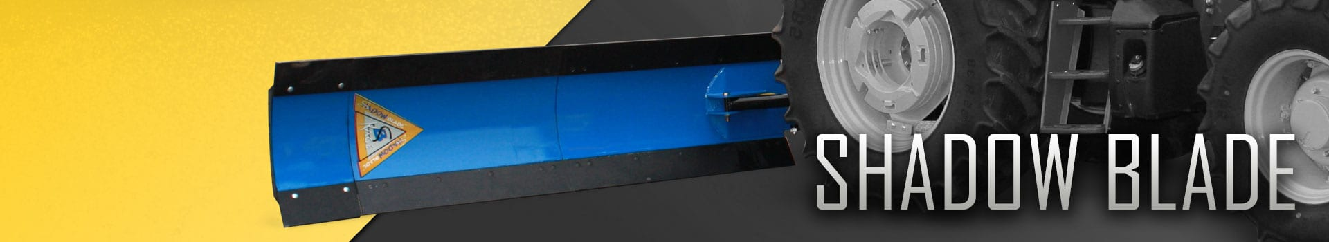 Shadow Blade Tractor Snow Plow by KAGE® Innovation