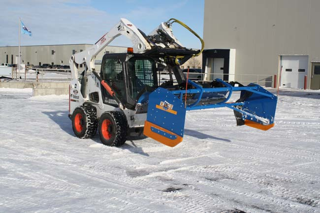 Skid Steer Snow Plow Commercial Use