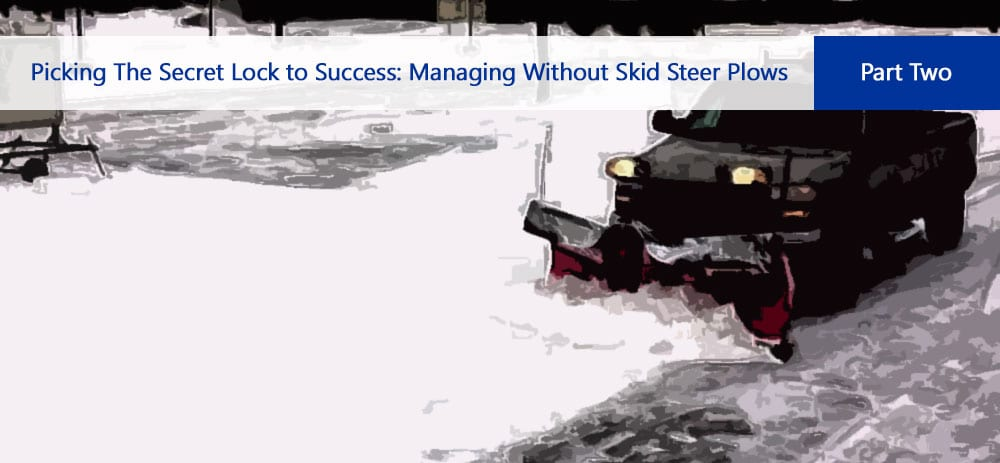 Skid Steer Snow Plow Kage Innovation
