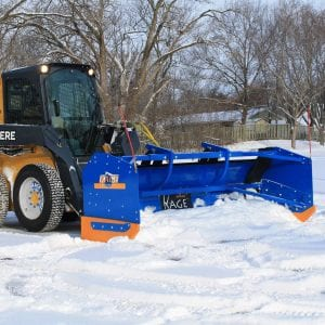 Skid Steer Snow Plow Attachments