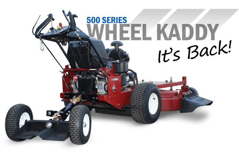 Wheel Kaddy 500 Series Sulky