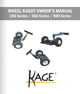 Wheel Kaddy Mower Sulky Owners Manual - All Series