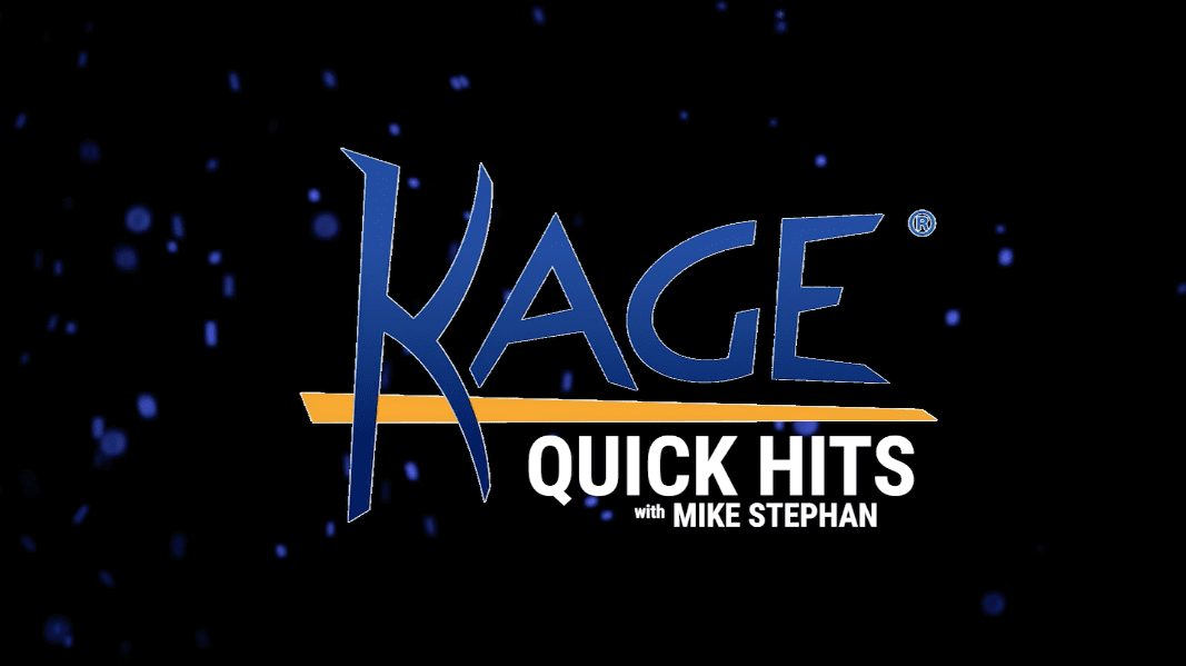 Kage Quick Hits: SNOW STAKES