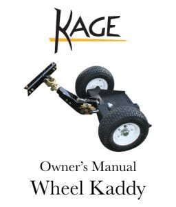 Wheel Kaddy Manual