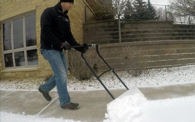 Best Snow Shovels Have Steel Cutting Edges