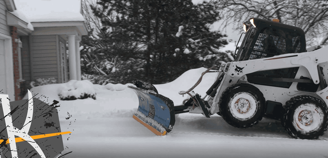 Bobcat Skid Steer Pusher Box Plow