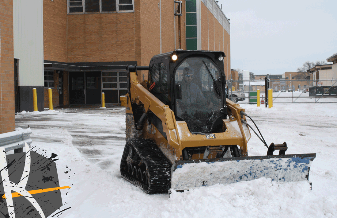 Choose the right Size Plow for Skid Steer